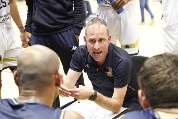 BASKETBALL: Worcester Wolves head coach Matt Newby. Picture: KEITH HUNT