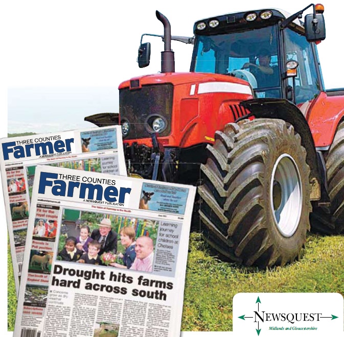 Worcester News: tractor